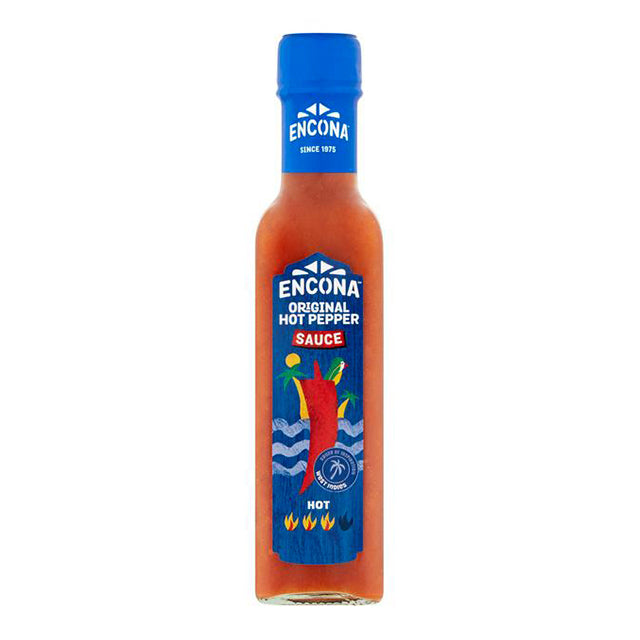 Encona Hot Pepper Sauce (142ml)