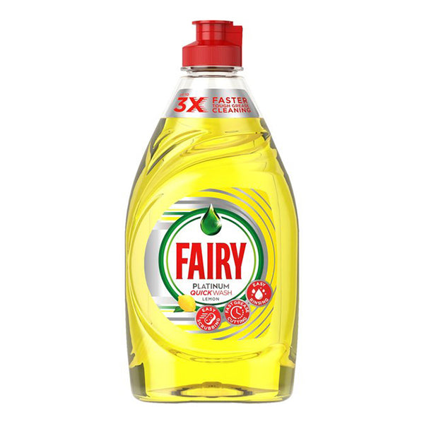 Fairy Washing Up Liquid Platinum Lemon (383ml)