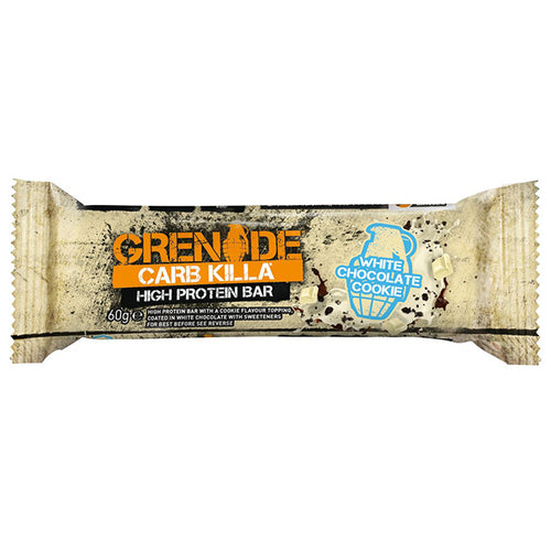 Grenade Carb Killa White Chocolate Cookie Bar (60g)