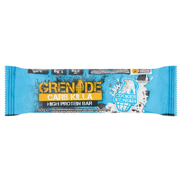 Grenade Carb Killa Cookies & Cream Bars (60G)