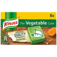 Knorr Stock Cube Vegetable 8S (80G)