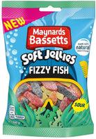 Maynards Bassetts Fizzy Fish (160G)