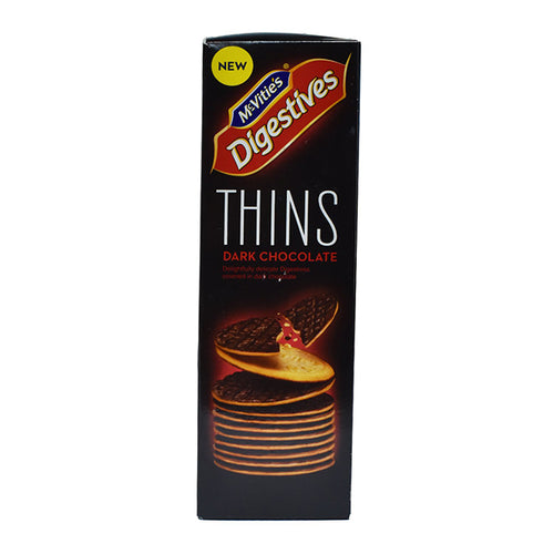 Mcvities Dark Chocolate Digestive Thins (180g)
