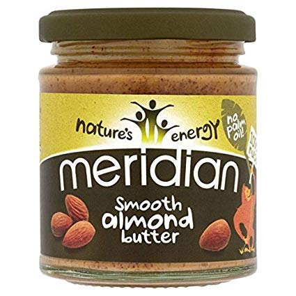 MERIDIAN NATURAL SMOOTH 100% ALMOND BUTTER