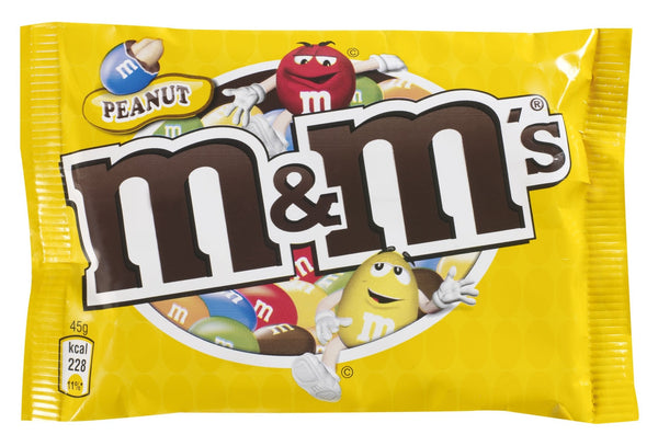 M&Ms Peanut Bag (45G)