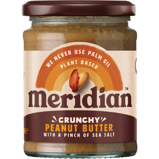 Meridian Crunchy Peanut Butter with a pinch of Sea Salt(280G)