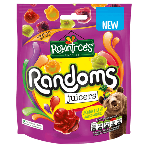 Rowntree Randoms Juicers Pouch (140g)