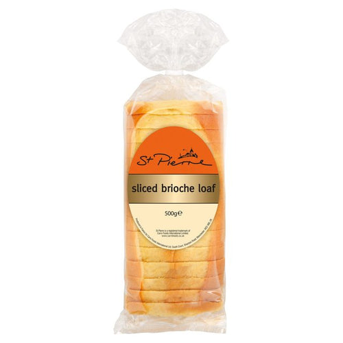 St. Pierre Sliced Brioche Loaf (500g)