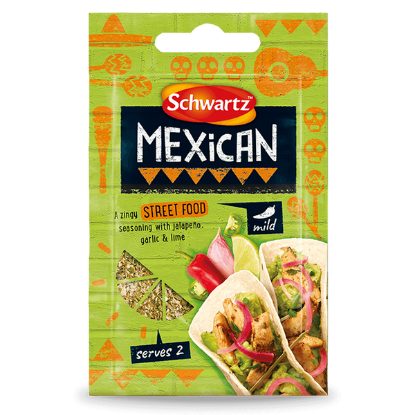 Schwartz Street Food Mexican (14g)