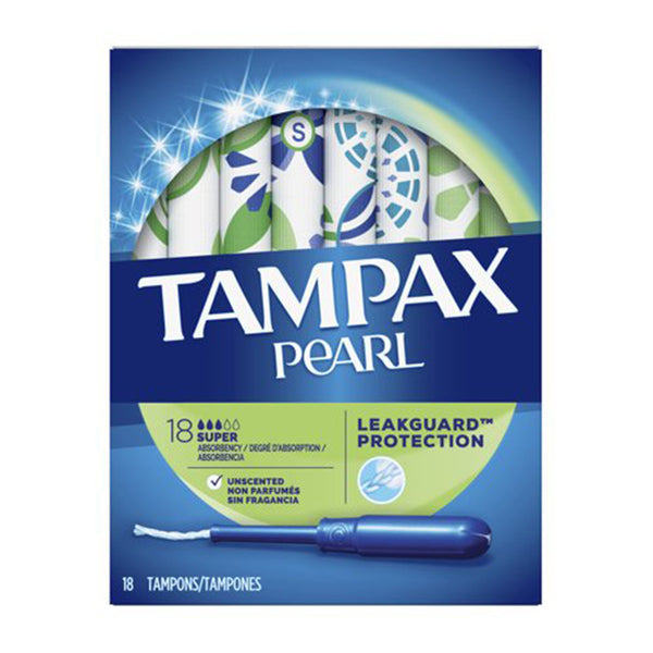 Tampax Pearl Super 18s (18g)