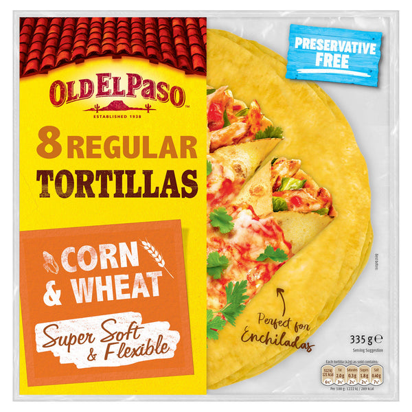 O.E.Paso Corn Tortillas (335g)