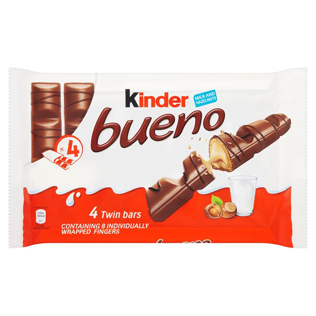 Kinder Bueno 43g X 4 (170g) (Multi-Pack)