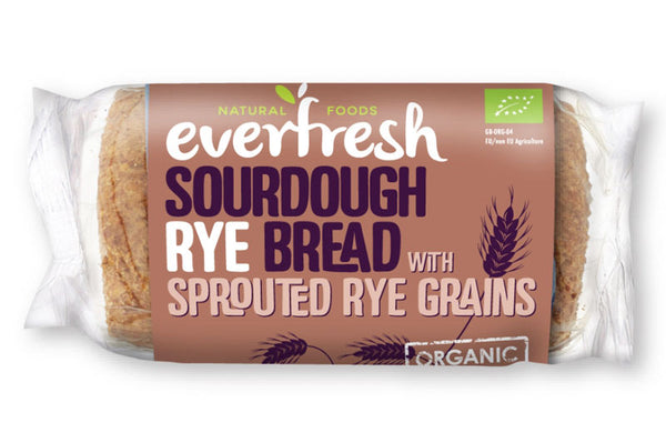 Everfresh Organic Sourdough Rye Bread (400 G)