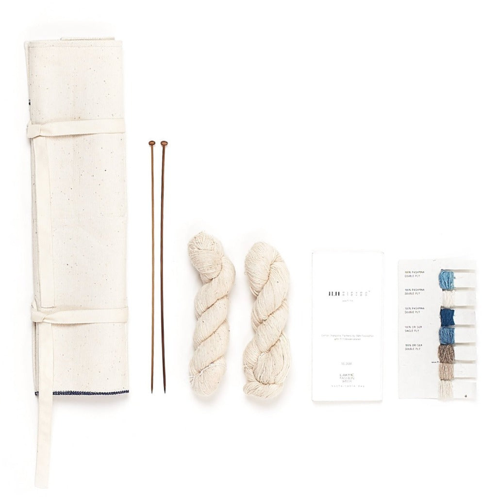 Handcrafted Knitting Essentials Kit - Natural