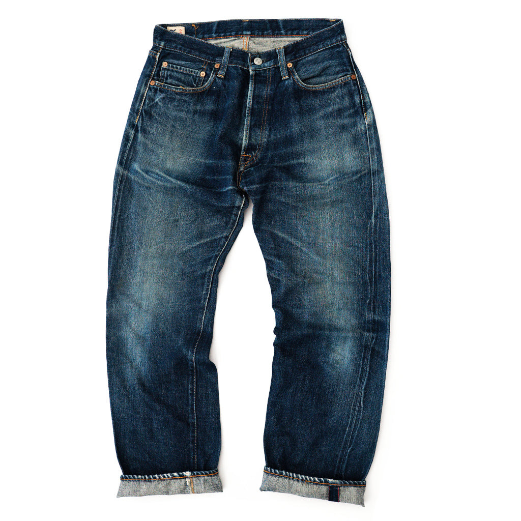 Transnomadica 45RPM Model: 624 Selvedge Jeans W29 x L28 Cuffed