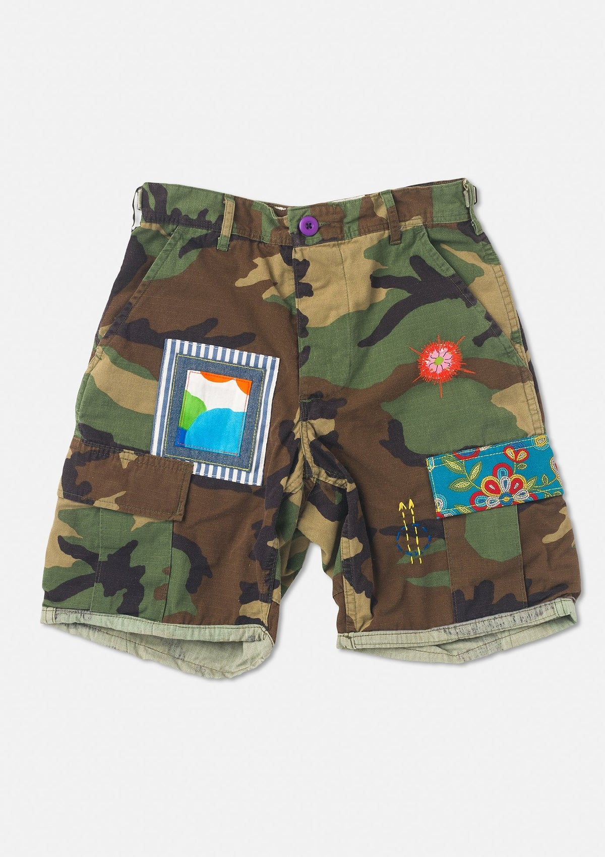 The Camo Cargos on LSD Shorter