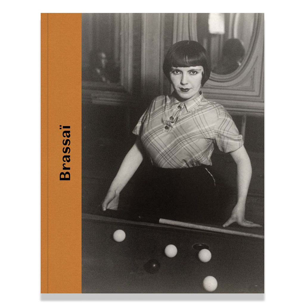 Front cover of Brassai book