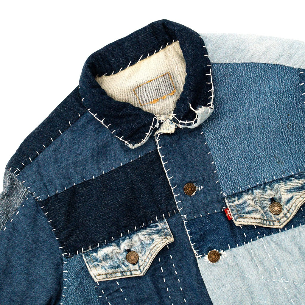 Levi's Type III Button Down Jacket Small