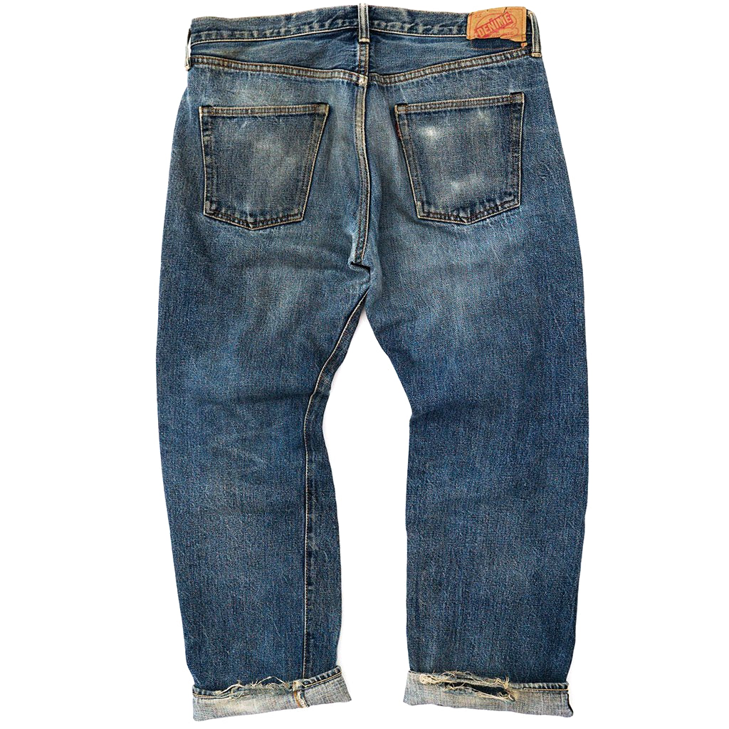 Transnomadica Denime 66 Type Selvedge Jeans W35 x L28 Cuffed