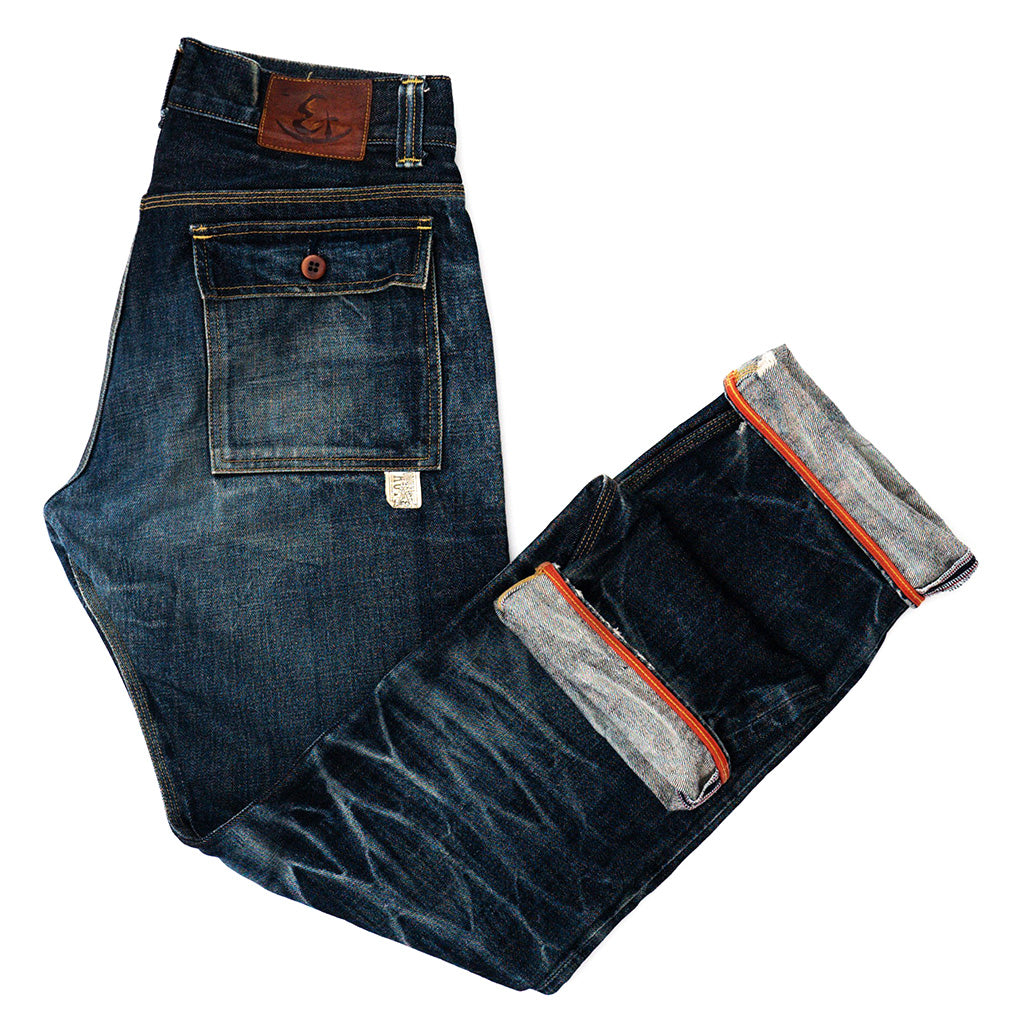 Eternal Patch Pocket Selvedge Jeans W33 x L34