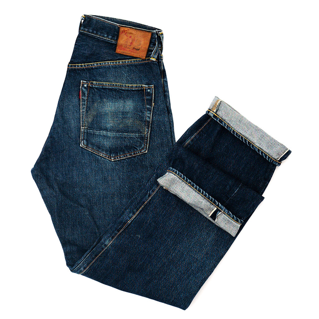 Transnomadica Evis Japan No. 2. 2501XX Selvedge Jeans W29 x L32 Cuffed