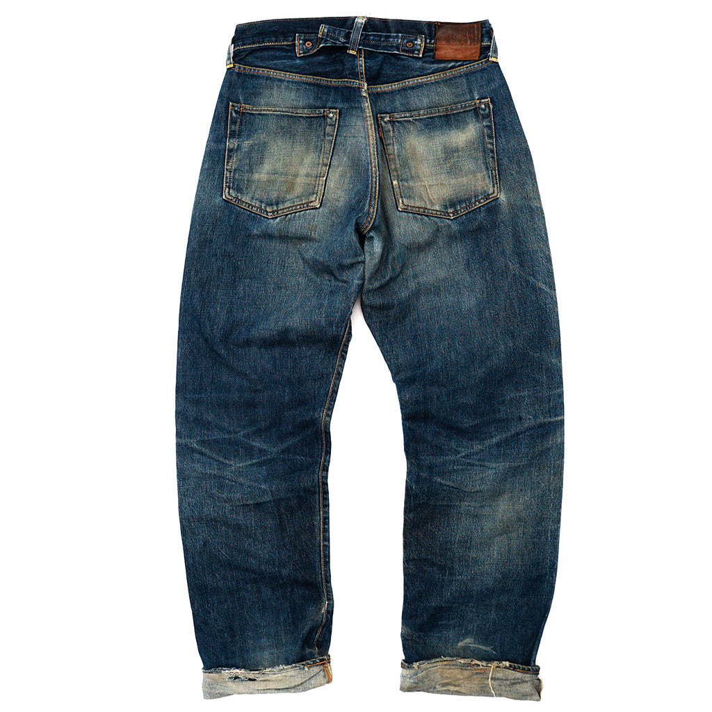 Transnomadica Evis Japan No. 2. 2504XX Selvedge Jeans W31 x L33 Cuffed