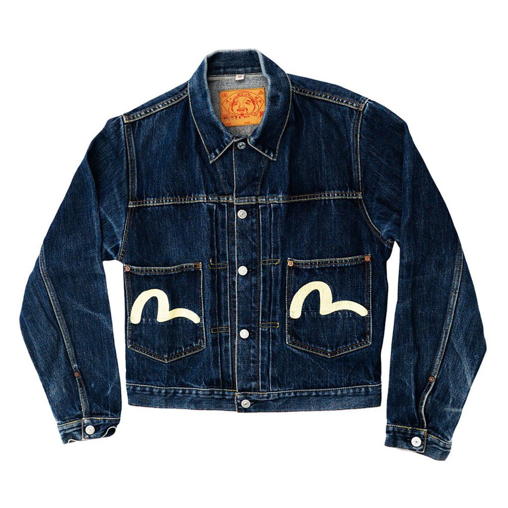 Transnomadica Evisu Japan Type II Jean Jacket Medium