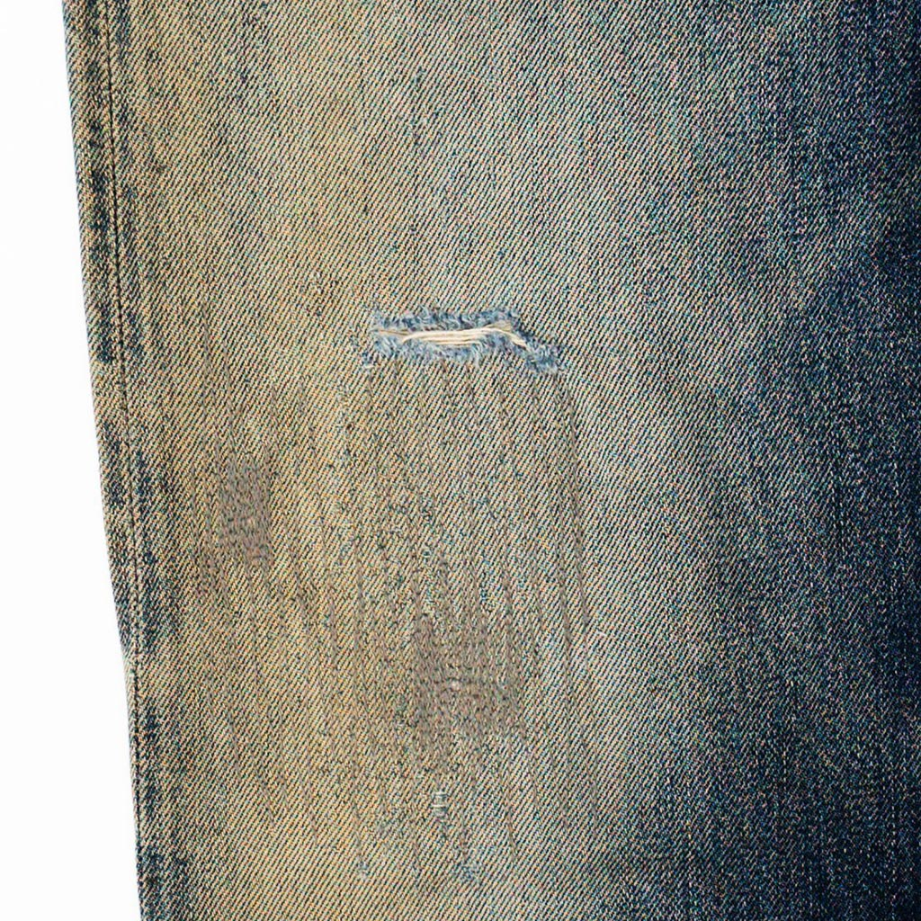Transnomadica Full Count Lot 1101 Selvedge Jeans W30 x L27 cuffed