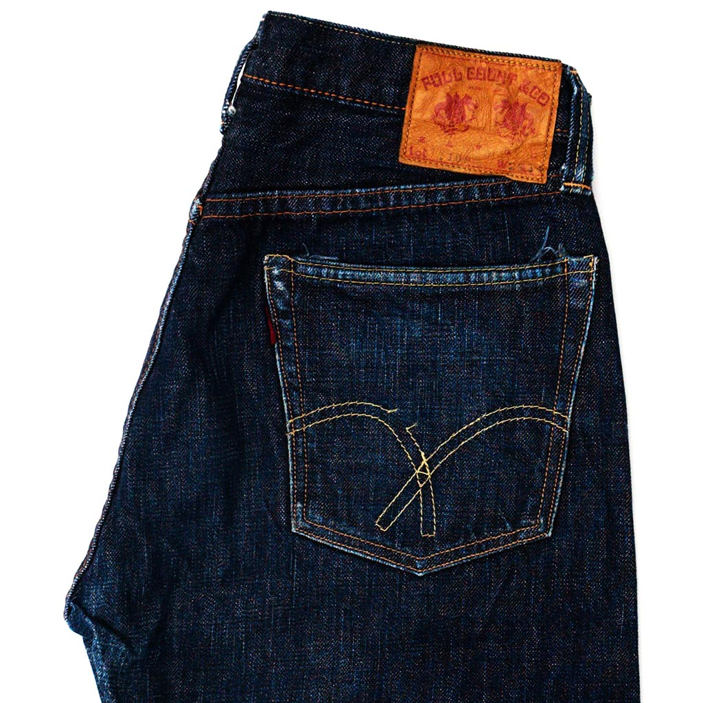 Transnomadica Full Count Lot 1108 Selvedge Jeans W28 x L27 cuffed