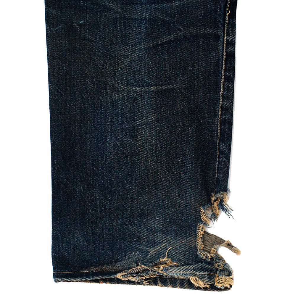 Transnomadica Hollywood Ranch Market Selvedge Jeans W27 x L28 cuffed