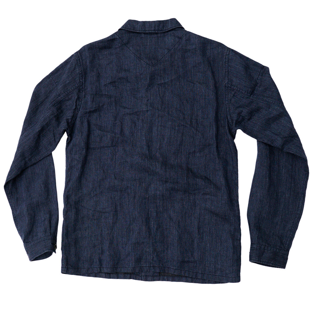 Transnomadica J.S. Homestead Deep Blue Overshirt