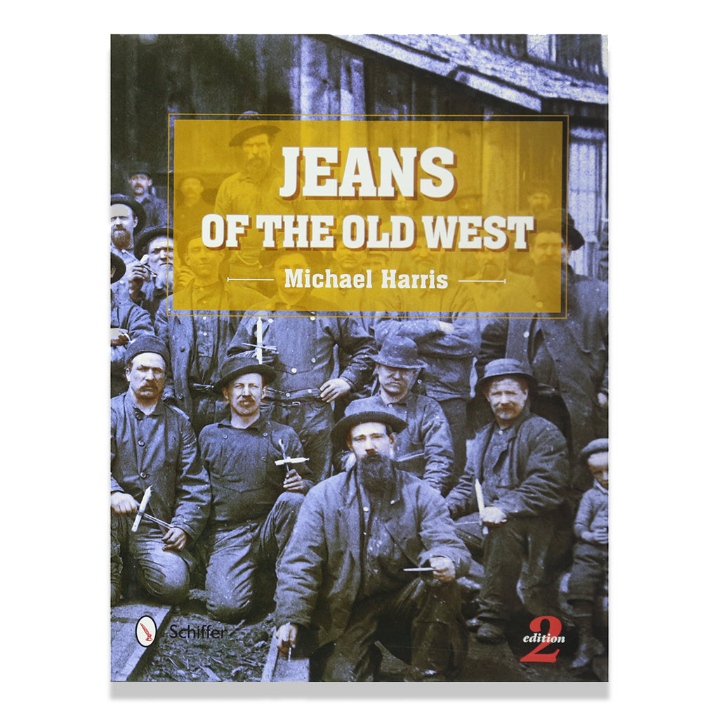 front cover image of Jeans Of The Old West by Michale Harris