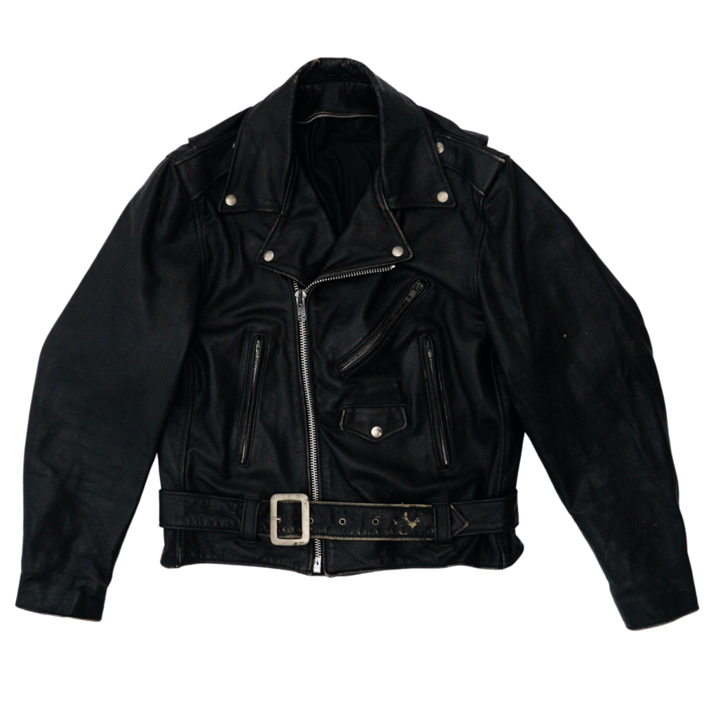 Transnomadica UNKNOWN Belted Moto Jacket Medium