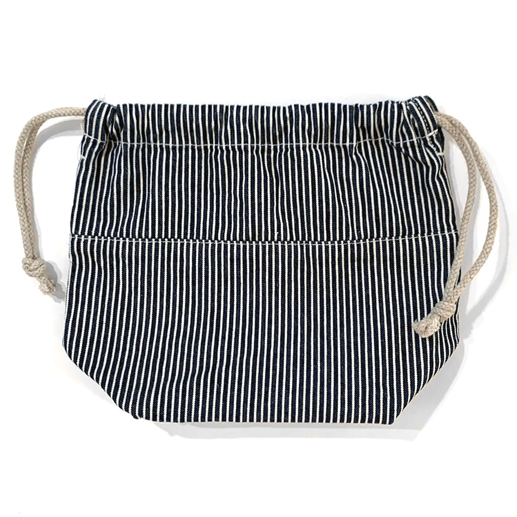 Lee Hickory Stripe Indigo Denim Carry Pouch