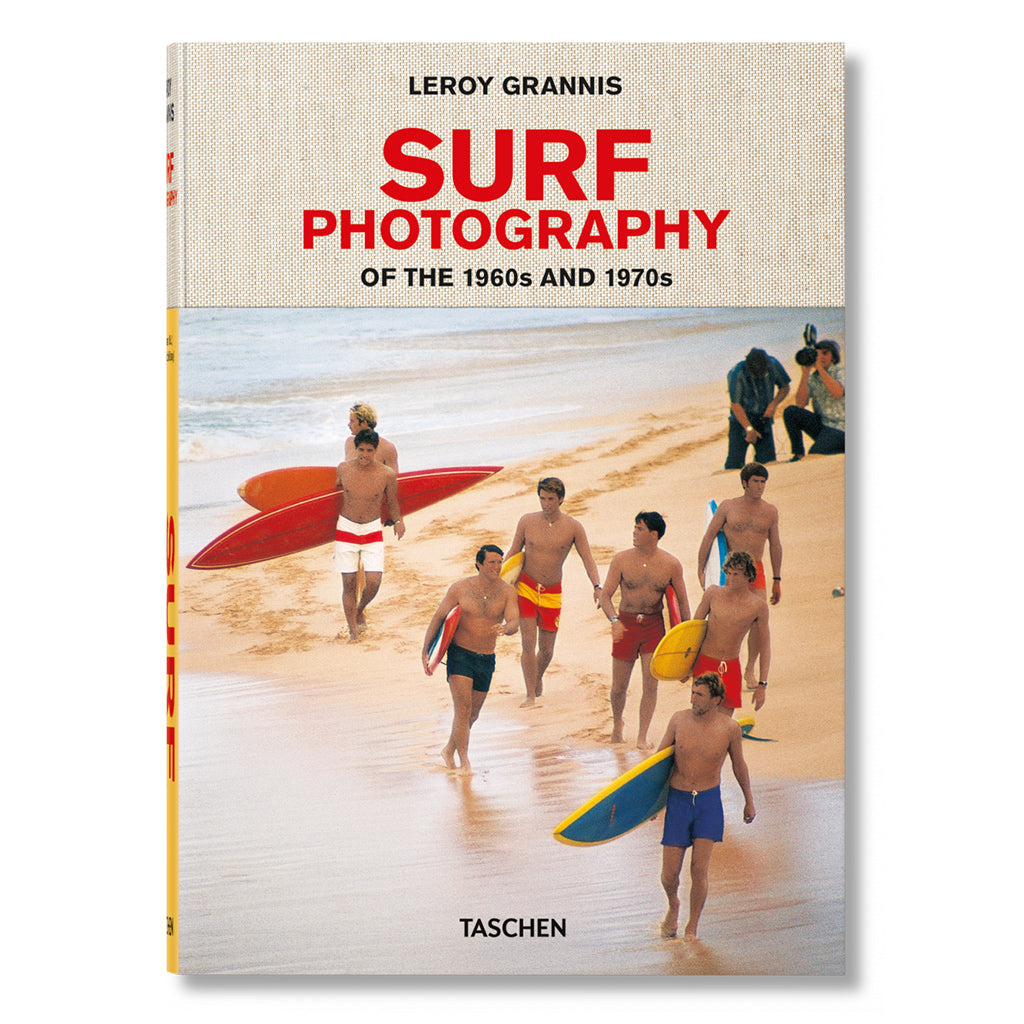 front cover image of Leroy Grannis Surf Photography