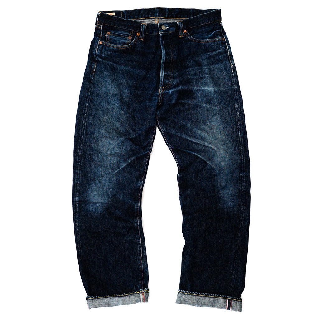 Transnomadica Momotaro Going to Battle Label Selvedge Jeans W32 x L30 cuffed