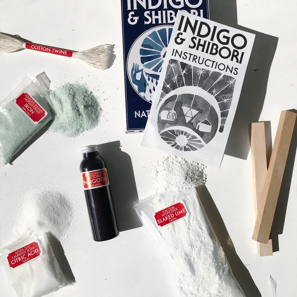 Graham Keegan Indigo & Shibori Natural Dye Kit
