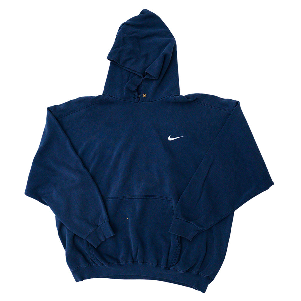 Transnomadica Nike USA Distressed Collar Hoodie Extra Extra Large