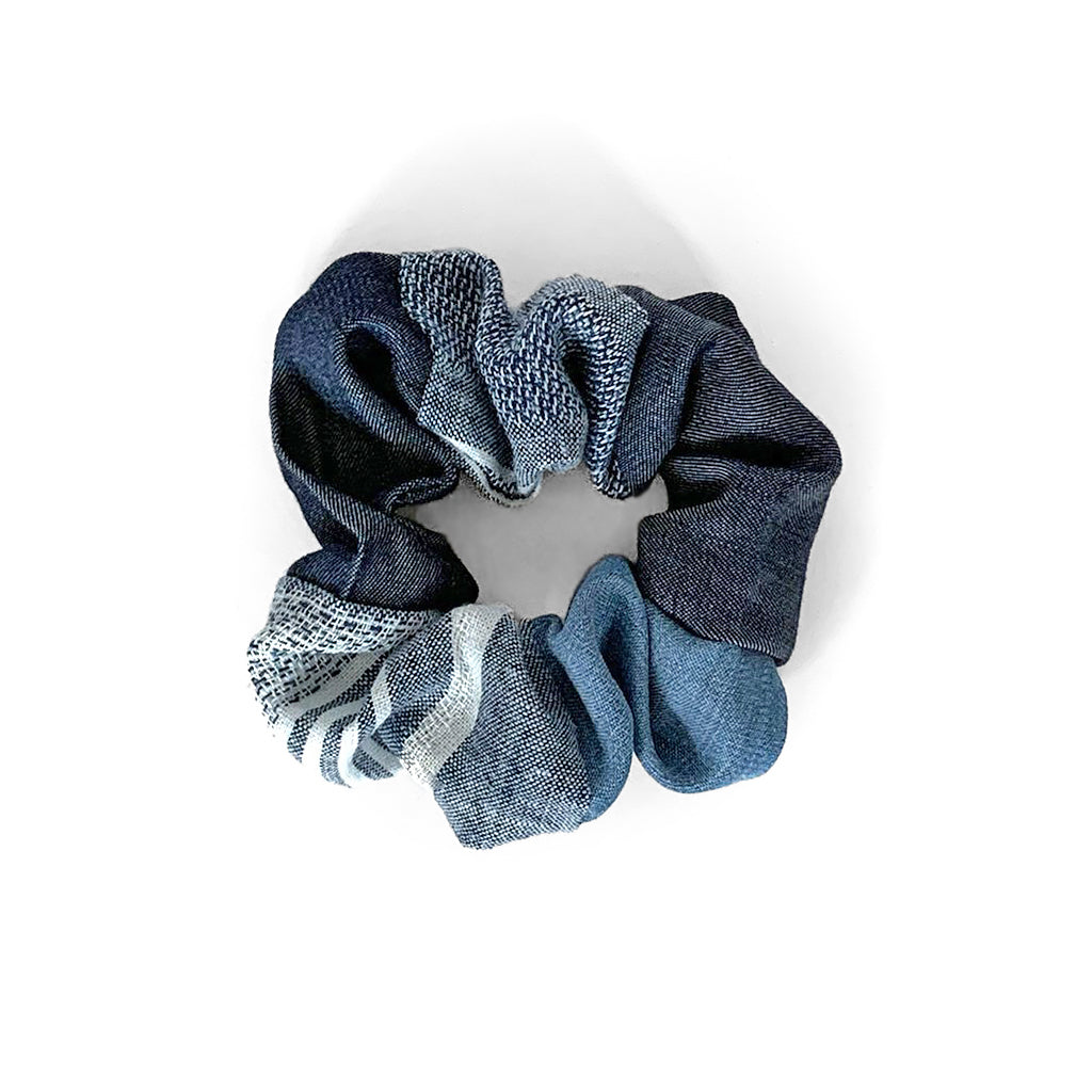 Upcycled Denim Scrunchie