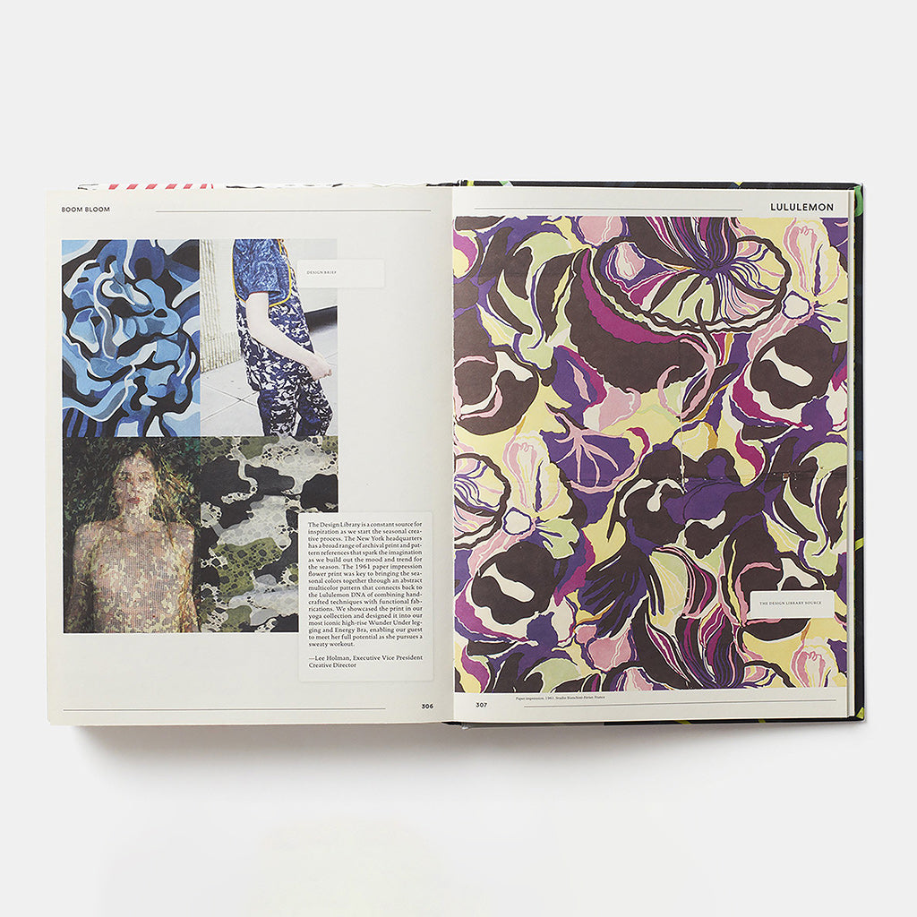 Inside pages of Patterns: Inside the Design Library by Peter Koepke
