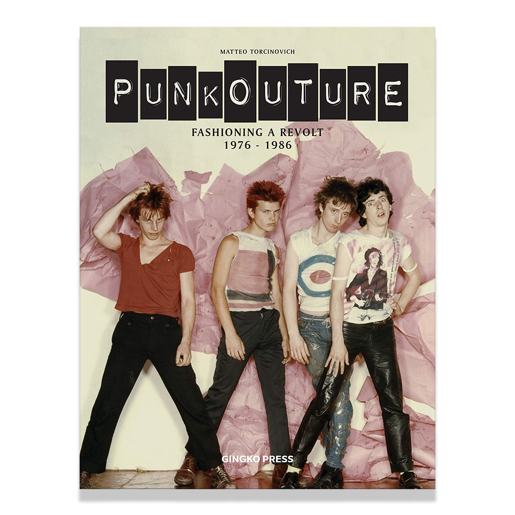 front cover of Punkouture: Fashioning a Revolt: 1976 to 1986 by Matteo Torginovich