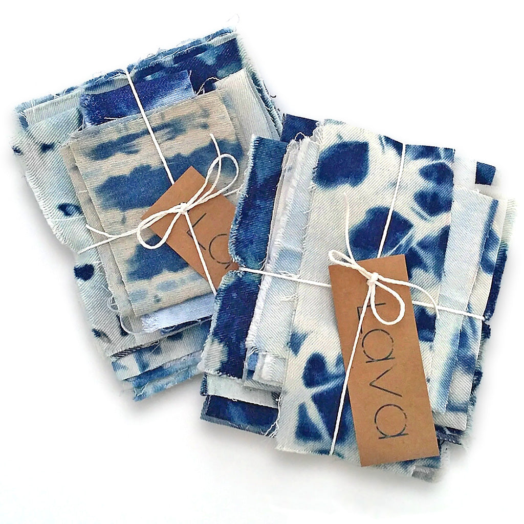 Shibori Denim Bundle Fabric Bundle