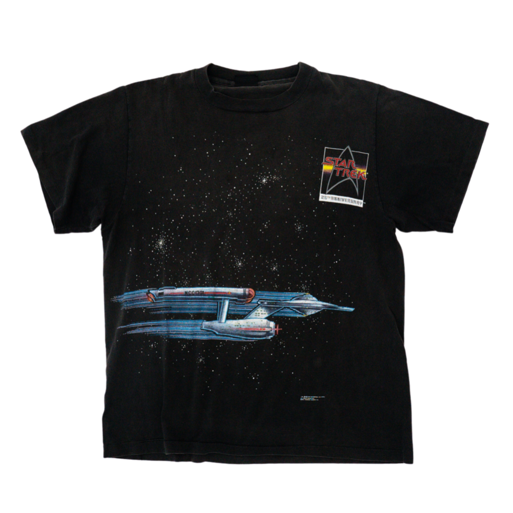 Star Trek T- Shirt 25 Years Medium