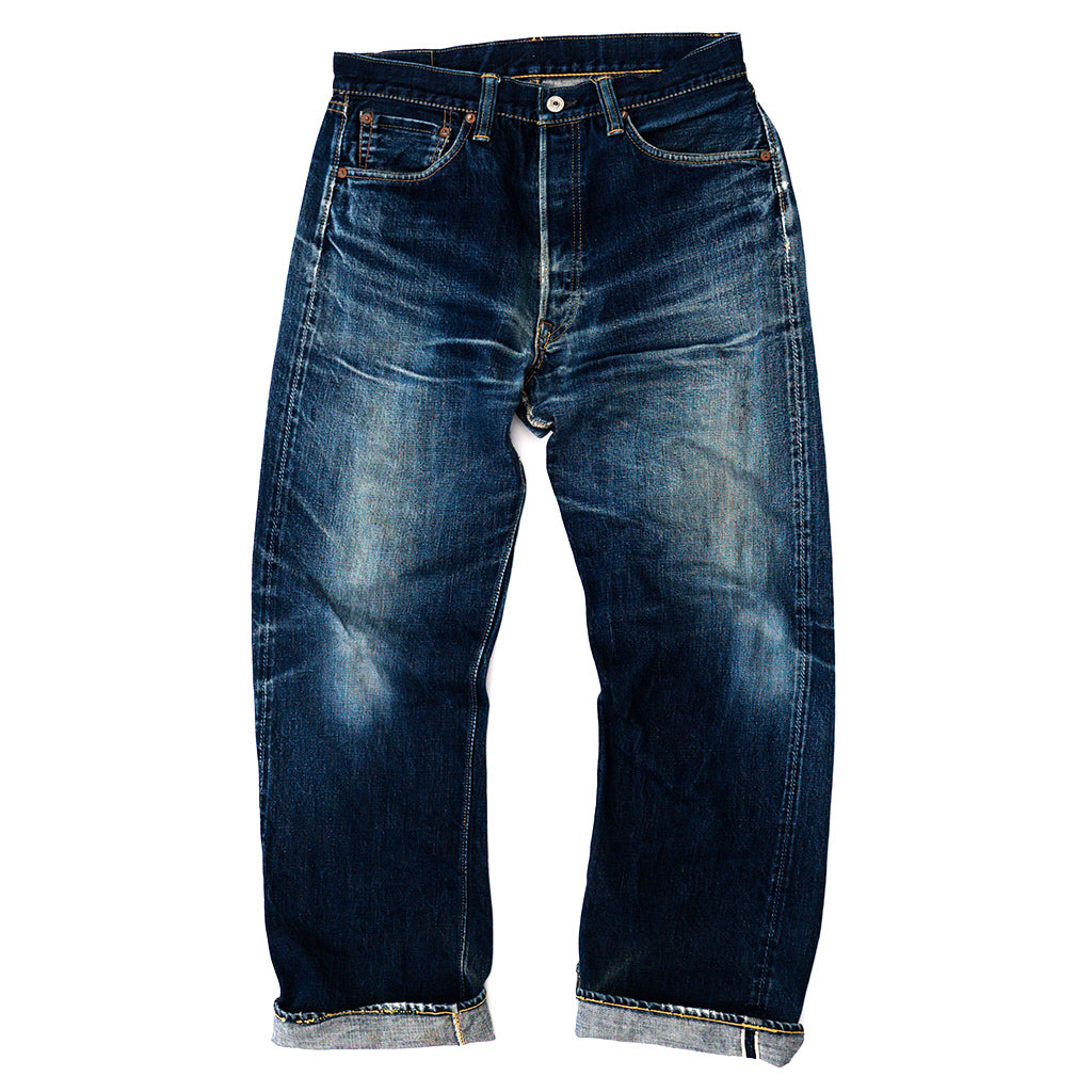 Transnomadica Warehouse Lot 1000 Selvedge Jeans W31 x L29 Cuffed