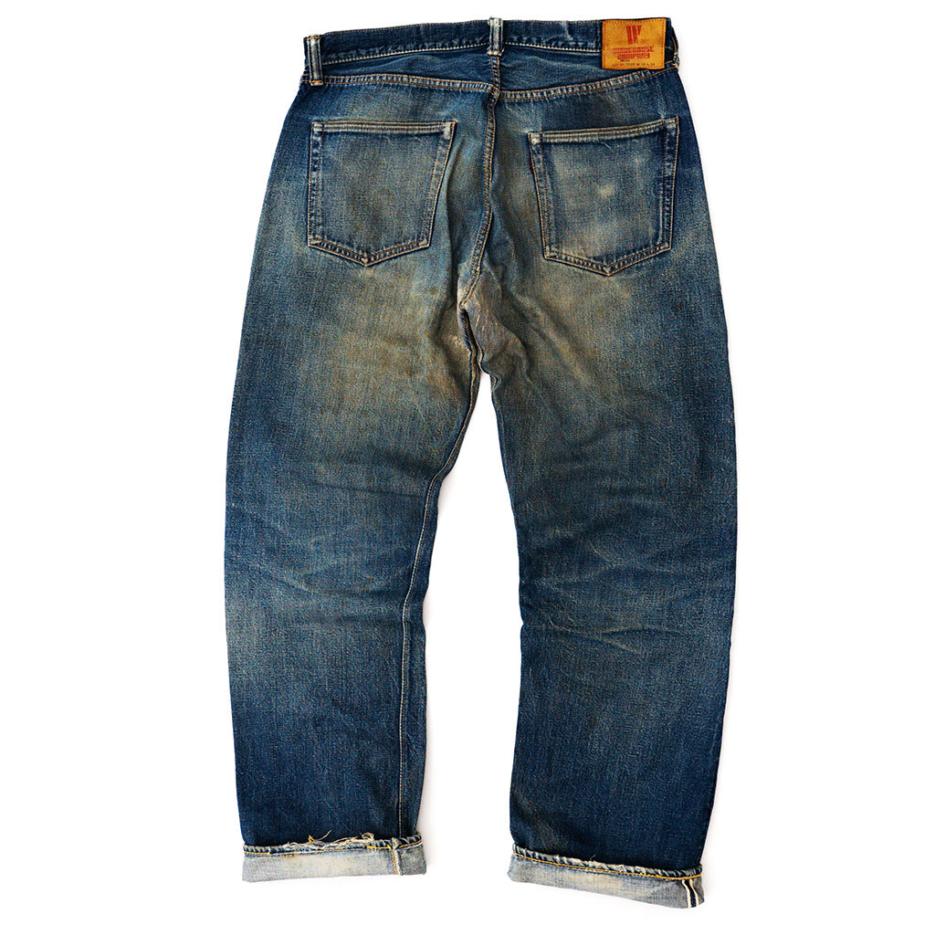 Transnomadica Warehouse Lot 1000 Selvedge Jeans W34 x L31 Cuffed
