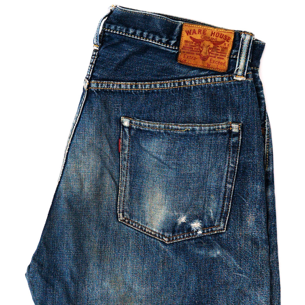 Transnomadica Warehouse Lot 1000 Selvedge Jeans W34 x L30 Cuffed