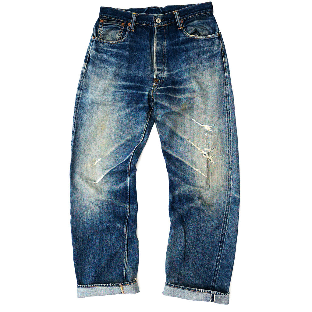 Transnomadica Warehouse Lot 1004 Selvedge Jeans W31 x L31 Cuffed