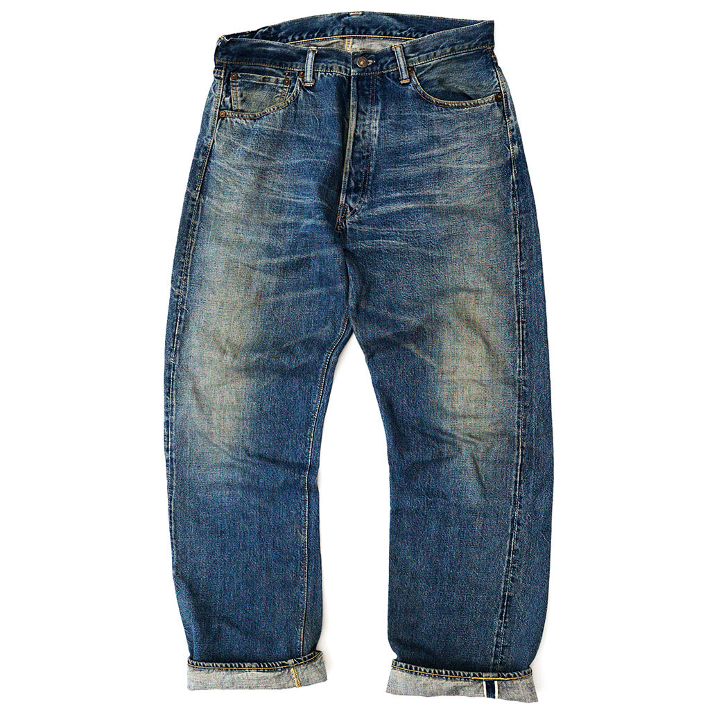 Transnomadica Warehouse Selvedge Jeans W32 x L30 Cuffed