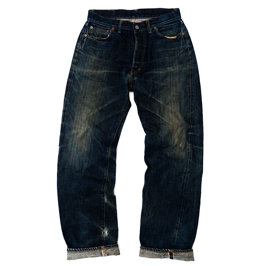 Transnomadica World Int Selvedge Jeans W30 x L33 cuffed