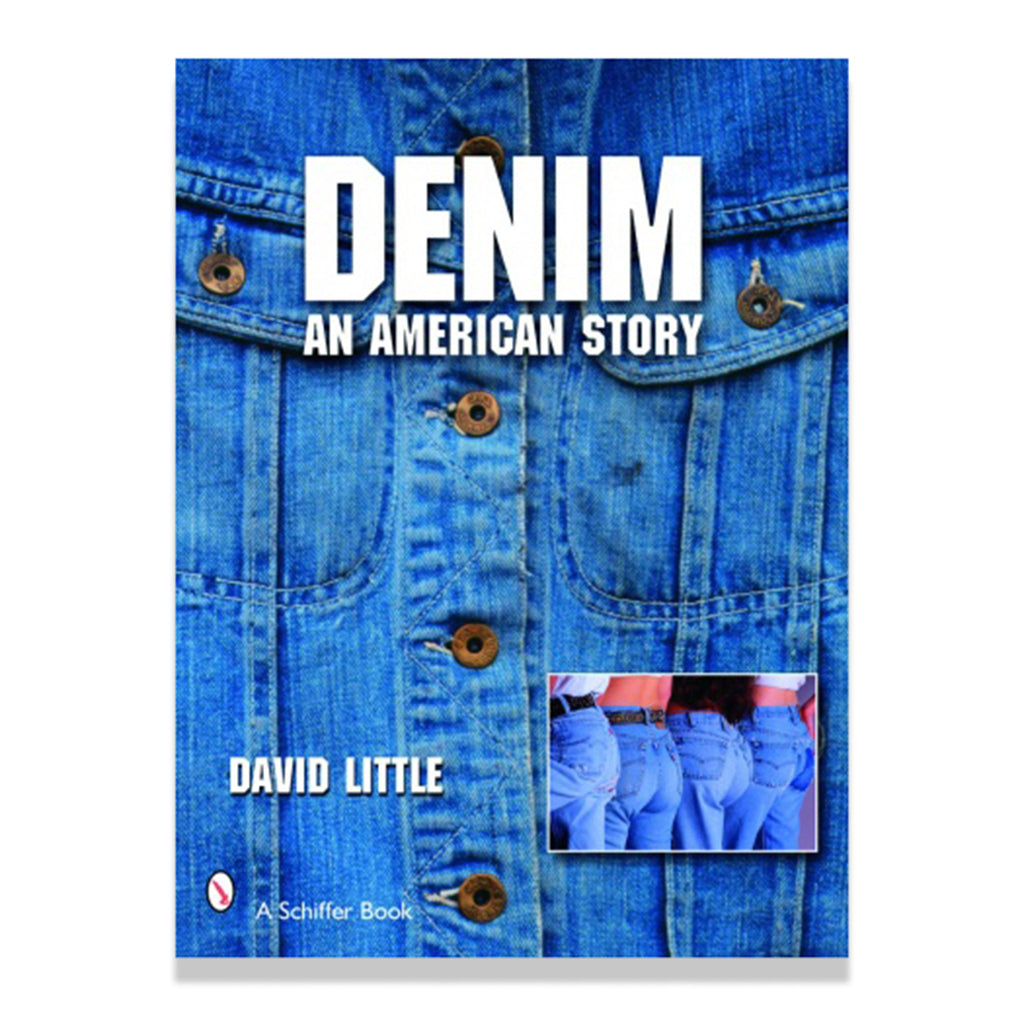 Front cover of Denim: An American Story by David Little
